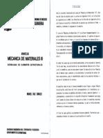 Apuntes de Mecanica de Materiales III - Unam