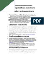 Manual Programacion de Winamp