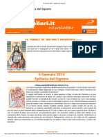 6 Gennaio 2014 - Epifania Del Signore