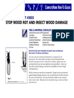 Stop Wood Rot