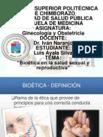 Bioetica en La Salud Sexual y Reproductiva