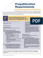 New 2014 Joint Commission Accreditation Standards for Diagnostic Imaging Services -  Hospitals and Critical Care
