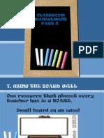 Classroom Management Part 2