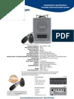 AE SoloSolution Spec Sheet
