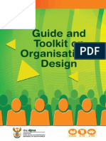 A Guide and Toolkit on Organisational Design DPSA