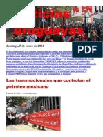 Noticias Uruguayas Domingo 5 de Enero Del 2014