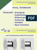 01 Huettmeyer Technische Grundlagen Der B-Bild Sonographie