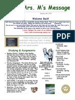 newsletter- january 2014