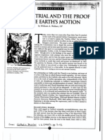 Wallace-Galileo's Trial and the Proof of the Earth's Motion
