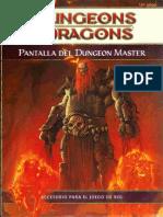 Pantalla Del Dungeon Master D&D 4.0