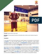 Nueva victoria, viejos males | Almería Basket 74-56 Dental Colomer Deportivo Algeciras