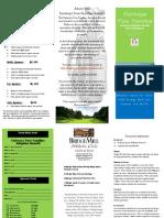 golf pamphlet