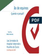 Vacinacao de Equinos-Dr. Tome Fino