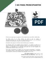 [go igo baduk weiqi] Manual de Go para principiantes (español)