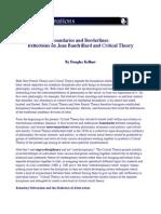 Baudrillard Critical Theory 89 Kellner