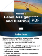 MPLS10S03-Label Assignment and Distribution
