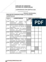 Certificado Comptecias Doblado Camisetas II