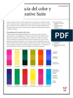 Adobe Gestión de color