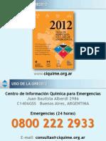 Uso de La Gre2012