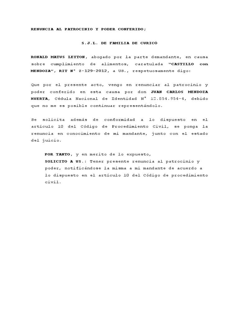 Bonito Renunciar Plantilla Elaboración - Ejemplo De Currículum ...