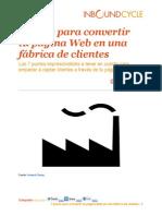 Ebook Gratis - 7 pasos para convertir tu página Web en una fábrica de clientes (1)