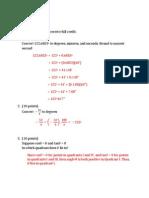 Math 125 - Exam 1 - Solution