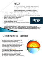 Geodinamica Interna.