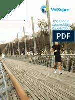 VicSuper Concise Sustainability Report 2008