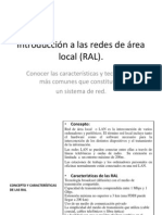 Introducción a las redes de área local (