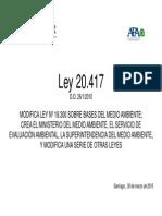 Ley 20.417