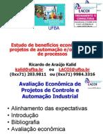 Benefícios Econômicos de Projetos de Automação e Controle