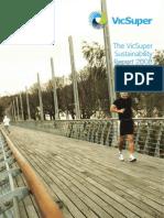 VicSuper Full Sustainability Report 2008