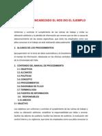 Manual de Procedimientos Para Hacer Procedimientos