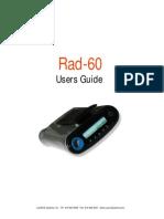 RAD-60 User Manual