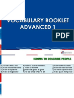 Vocabulary Booklet- Ppt Ad1-Ad2