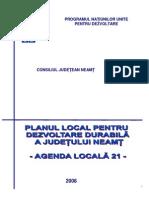 7303_NT_Planul Local Pentru Dezvoltare Durabila a Judetului Neamt Agenda Locala21