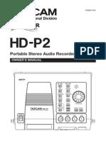 tascam-hd-p2-recorder-user-manual