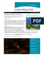 Flying High Newsletter Jan/Feb 2014 - Unity by The Shore, New Jersey