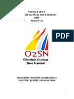 Panduan Umum O2SN 2012
