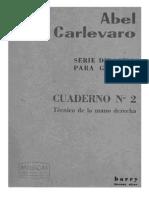 Abel Carlevaro Libro 2 Tecnica Mano Derecha