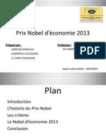 Prix Nobel de l_économie 2013 final.pptx