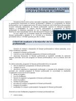 8 - Evaluarea, Revizuirea Si Asigurarea Calitatii Programelor Si Stagiilor de Formare-1