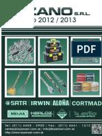 Catálogo General 2012-2013