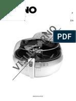 Manual Fritadeira Eletrica Arno Actifry