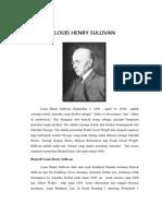 LOUIS SULLIVAN