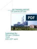 Ntpc Summer Training Report