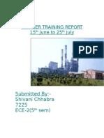 Ntpc-project Report on w c  Management at Sstpc-By Vidya Sagar