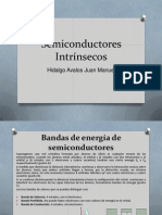 Semiconductores Intrínsecos