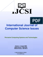 International Journal of Computer Science Issues (IJCSI), Volume 1, August 2009