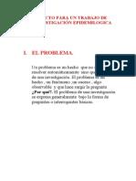 Proyecto Investigacion Epidemilogica
